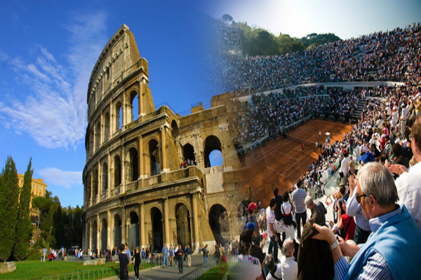 Semifinals' time in Rome