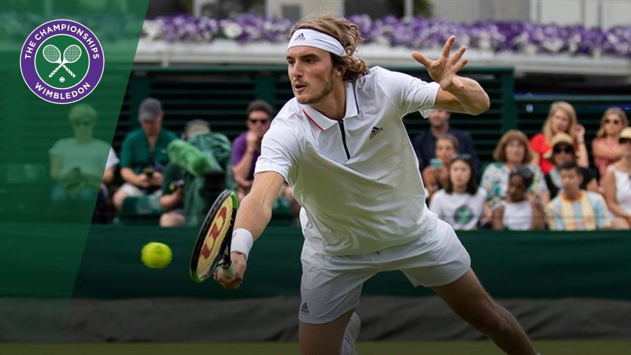 Striking Tsitsipas !!!