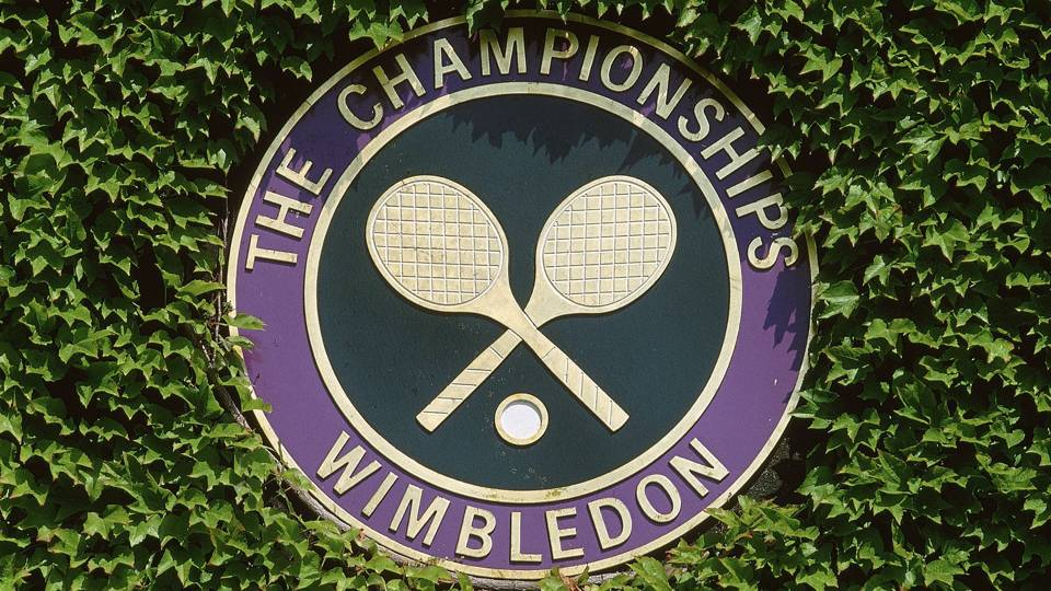Wimbledon, Monday's Schedule