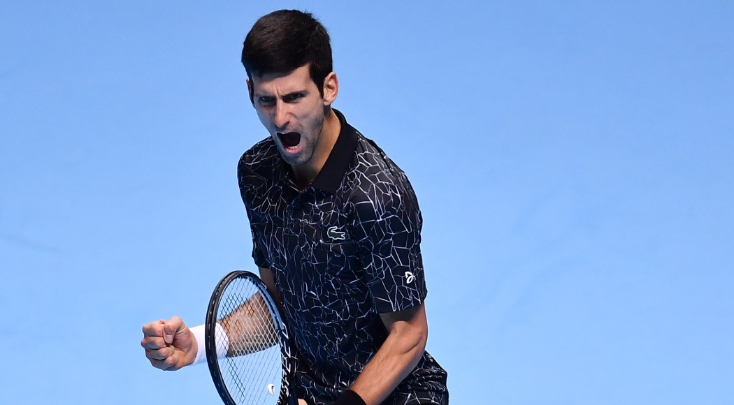 Djokovic triumphed in the ATP Finals semifinal