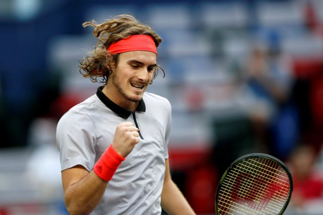 Undefeated in the semifinals Tsitsipas!