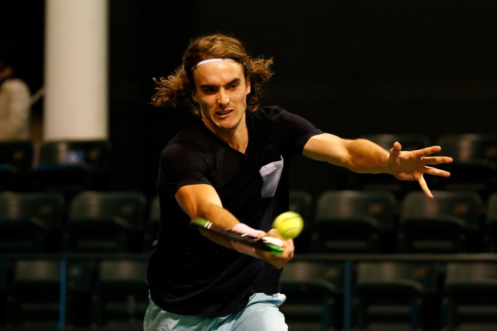 Tsitsipas' opening game in Indian Wells