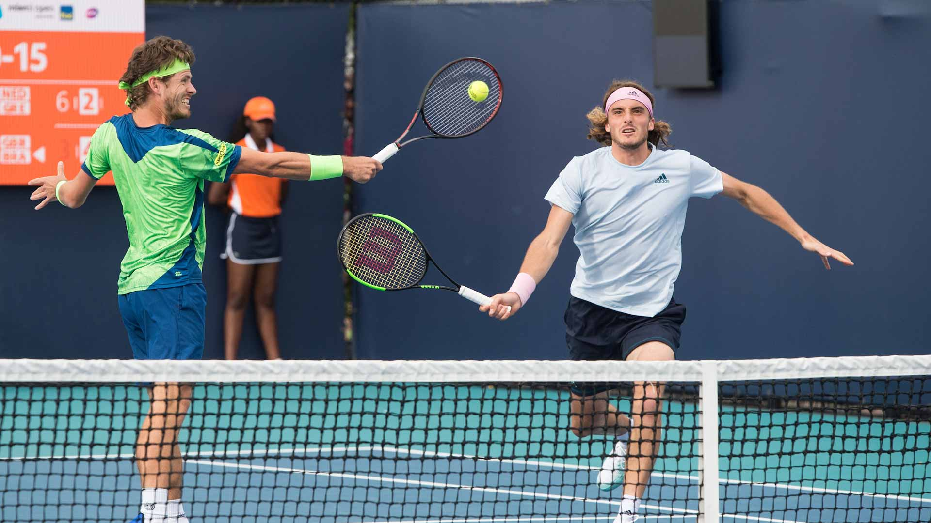 Tsitsipas advances to the Semis of Men's Doubles