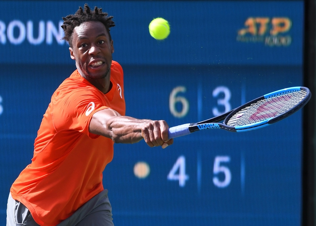 Monfils in the 4th round of Indian Wells Masters