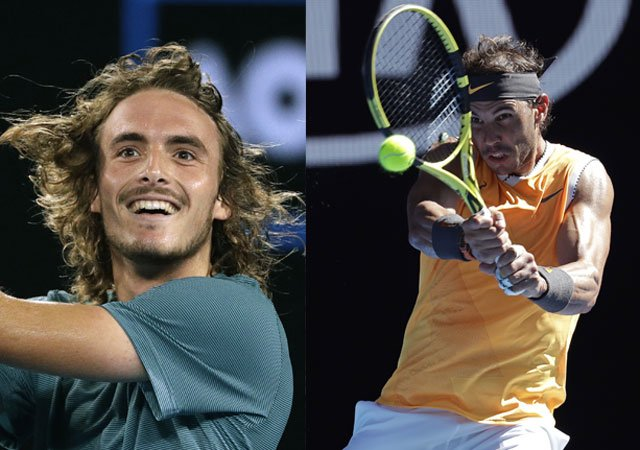 Tsitsipas to face Nadal in the Semifinals