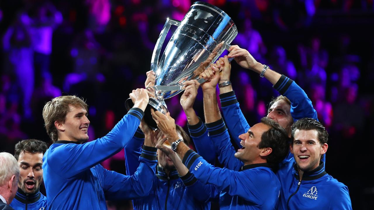 """Tsitsipas: """"It was a unique experience to play with them"""""""