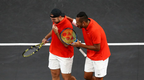 """They bent the Nadal-Tsitsipas twin"" Sock and Kyrgios"