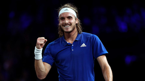 At No 7 Tsitsipas also for this week