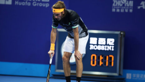 "Tsitsipas: ""I tried, but I had to give up"""