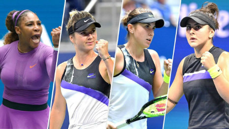 Women's semifinals at US Open
