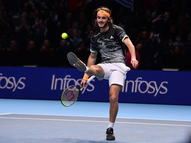 Tsitsipas heads for the top!!!