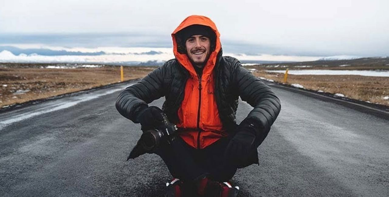 Stefanos' vacation to Iceland